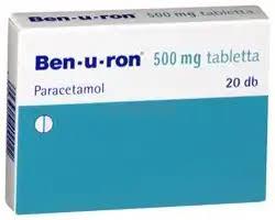 BEN-U-RON-500-mg-tabletta-20x